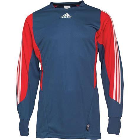 adidas jersey adidas goalkeeper football soccer jersey shirt mens rede