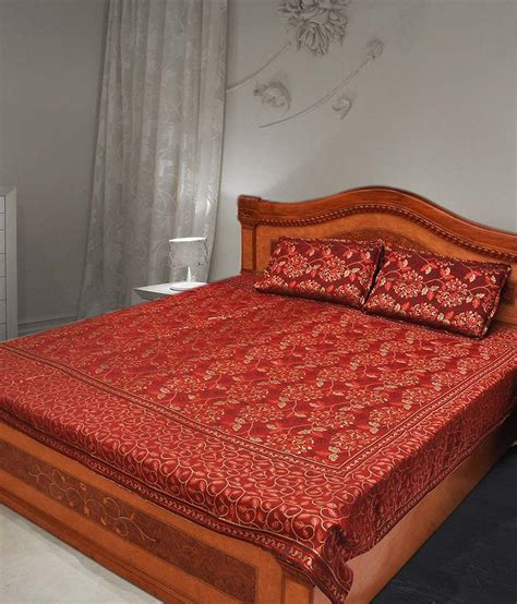 buy bed sheets double bed sheet buy double bed sheet online at low