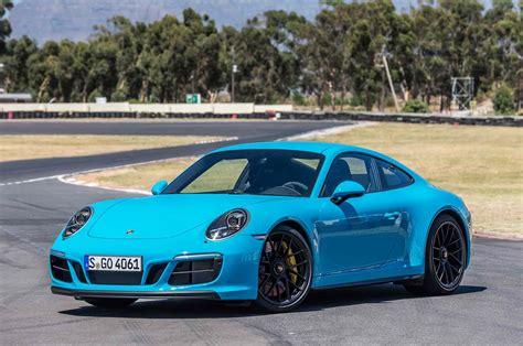 Porsche 911 Coupe 2017 Porsche 911 Gts Drive Motor Trend