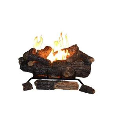battery operated fireplace logs emberglow oak 24 in vent free propane gas
