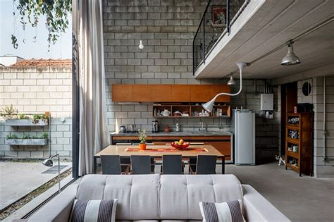 urban home interior homes with small courtyards
