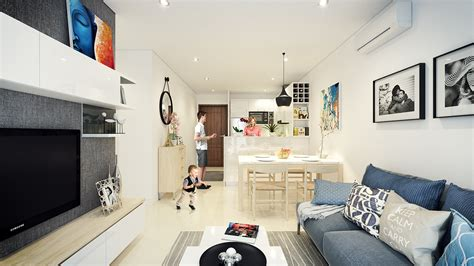 apartment urban design small open plan home interiors