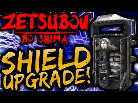 zombie shield tutorial black ops 3 quot zetsubou no shima quot upgraded shield tutorial how to