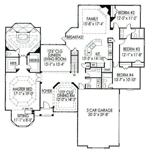 c humphreys housing floor plans house plan 59 115 houseplans com house pinterest