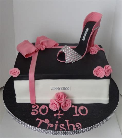 hours of pink and black jimmy choo shoe box and high