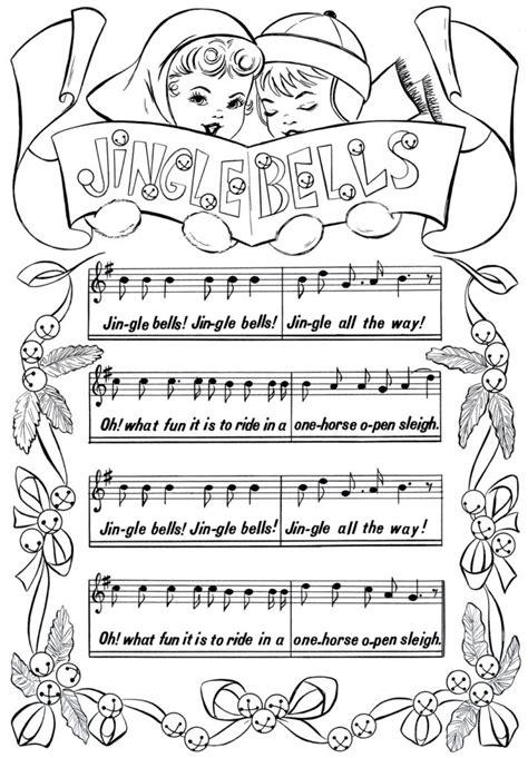 coloring pages printable christmas coloring page jingle