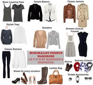 minimalist woman s wardrobe as it is in my