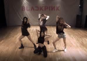 blackpink boombayah dance blackpink d 233 voile sa vid 233 o d entra 238 nement sur quot boombayah