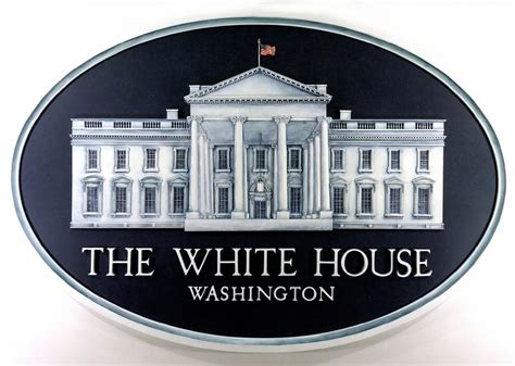 white house logo the progressive influence a president leads while opposition barks from the shadows