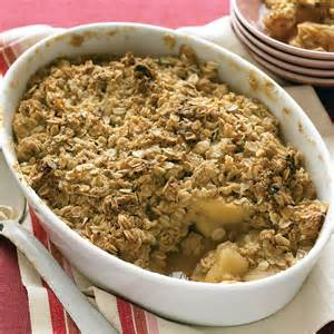 apple crisp recipe martha stewart