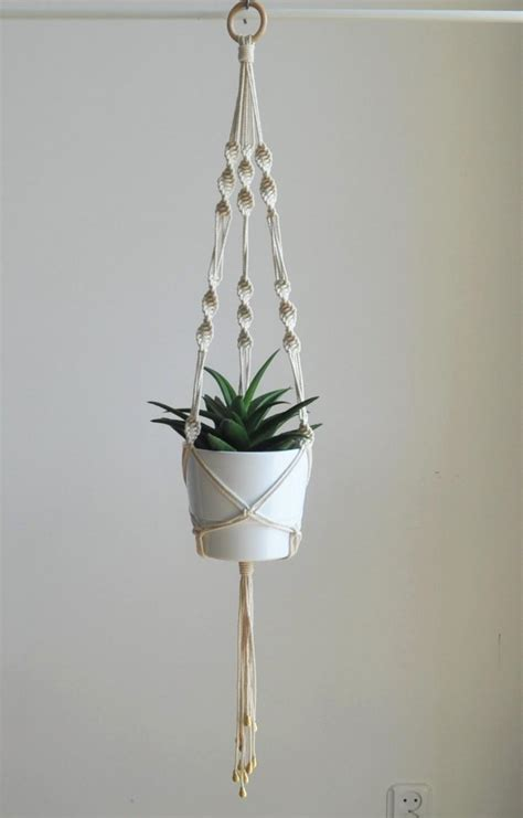 Macrame Hangers For Plants - wedding plant hanger macrame plant hanger boho wedding