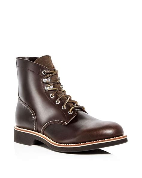 g h bass co s leather hiking boots in brown