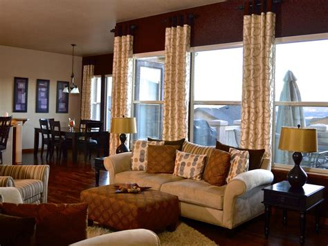 Window Treatments For Large Windows Decorating Custom Valances For Large Windows Window Treatments Design Ideas