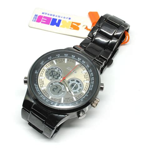 Skmei Original Casio Sport Led Water Resistant 50m Ad1065 skmei casio sport led water resistant 50m ad1031 brown jakartanotebook