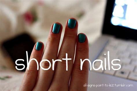 short nails  tumblr