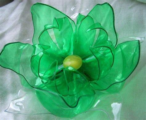 fiore di plastica riciclo della plastica in casa foto 25 40 ecoo