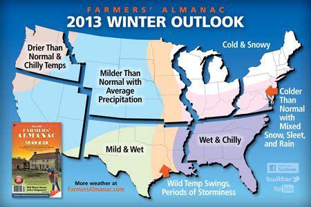 farmers almanac 2012 weather forecast wetter than normal 2012 2013 farmers almanac winter weather forecast