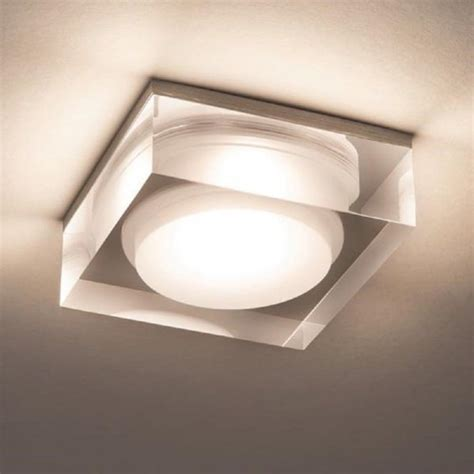 Bathroom Lighting Vancouver Led Recessed Bathroom Downlight With Attractive Glass Surround