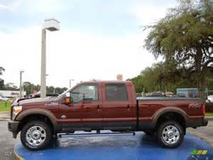 Bronze Ford 2015 Bronze Ford F350 Duty King Ranch Crew Cab