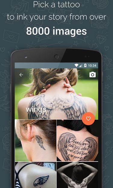tattoo app free download free app tattoos for all free android app android freeware