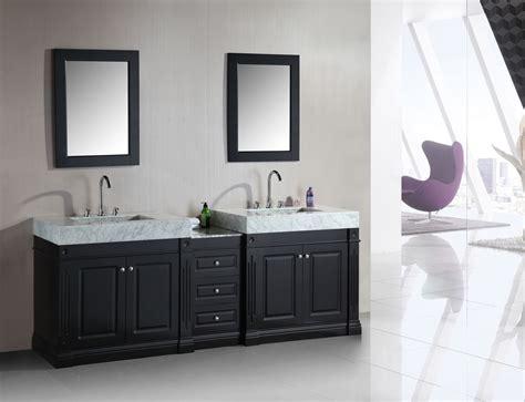 Two Vanities In Bathroom by Sink Vanity Designs In Gorgeous Modern Bathrooms