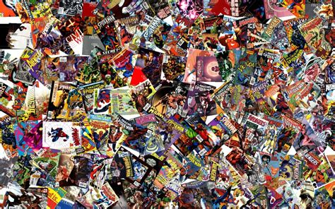 collage of marvel and dc characters hd wallpaper and collages wallpaper