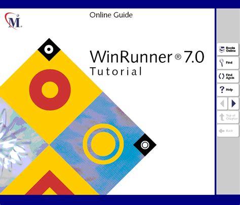 tutorial online html winrunner 7 0 tutorial winrunner 7 0 tutorial online guide