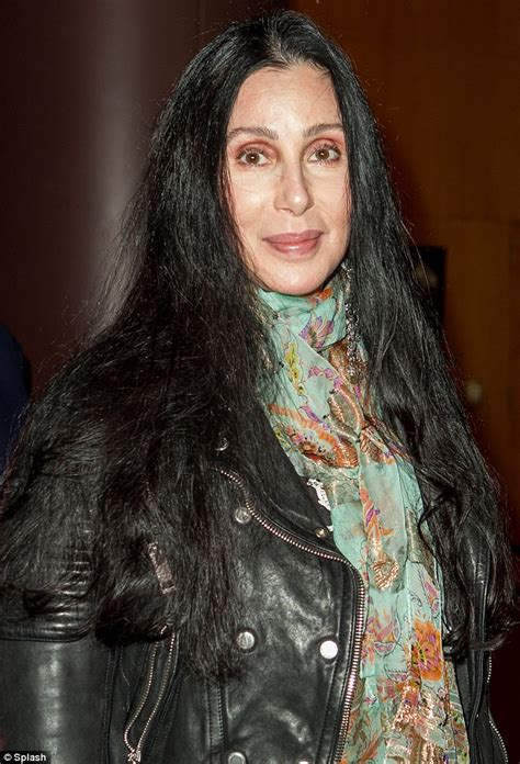 is 66 years old too old to ear bangs never too old for leggings cher defies her 66 years as