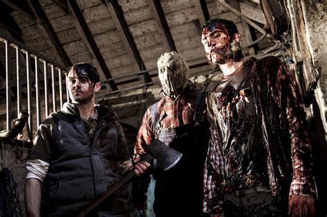 Aberdeen 2014 Full Movie Scottish Slasher Film The Redwood Massacre Shot In Aberdeen By Clear Focus Stv Aberdeen Aberdeen