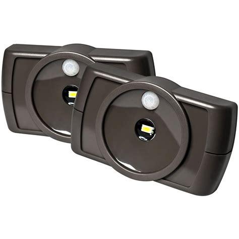 wireless indoor light fixtures 2 pk of wireless indoor motion sensor led slim lights