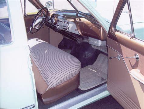Mercedes Upholstery Kits 1951 Ford Fordor Interior Kit Macs Auto Parts