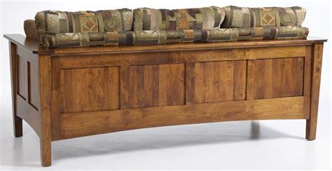 shaker sofa jake s amish furniture 5000 urban shaker sofa back