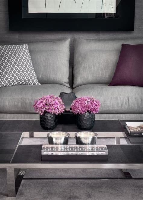 grey and pink sofa pantone s color of the year 2015 marsala pink living