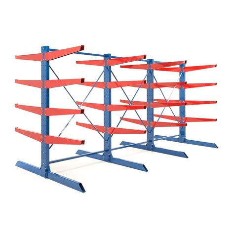 Heavy Duty Cantilever Racks by Heavy Duty Cantilever Racking Package 1000 Mm Arms 8800 Kg Load Aj Products