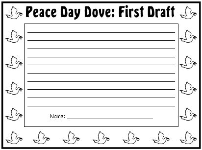Peace Day Worksheets by Peace Day Lesson Plans Activities Ideas And