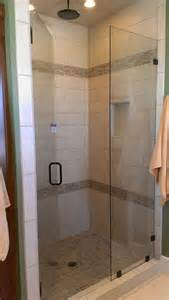 tile shower like mosaic design door pan best ideas about small bathroom designs pinterest