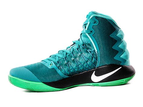 nike basketball shoes hyperdunks nike hyperdunk 2016 basketball shoes 844359 313 zielony