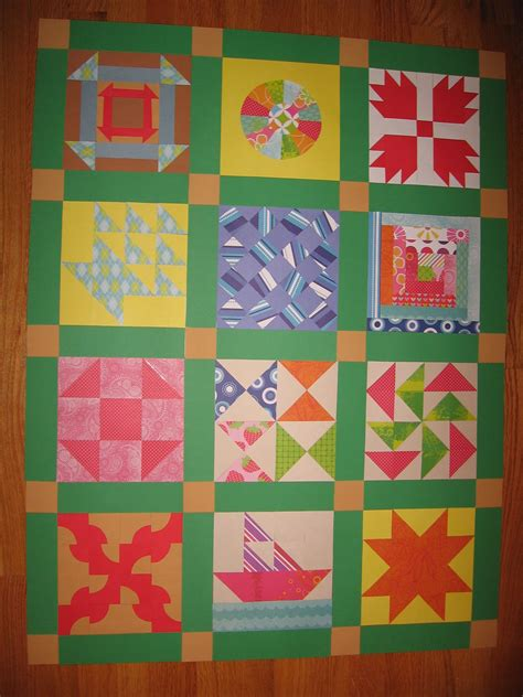 quilt pattern art lessons underground railroad paper quilt thi would be nice with