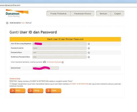 email danamon cara registrasi danamon online banking melalui atm danamon
