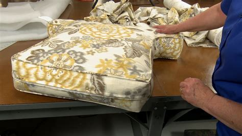 armchair pillow pattern how to make armchair cushions