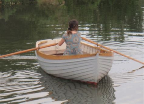 rowing boat manufacturers uk mcgruer wooden clinker rowing boat for sale