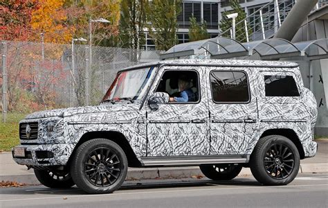 Mercedes G News by New 2018 Mercedes G Class Spied By Car Magazine