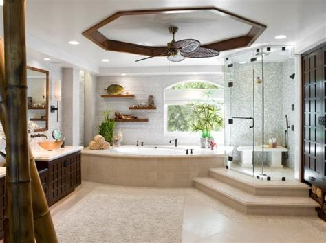 Spa Bathrooms Ideas Spa Inspired Contemporary Bathroom Christopher Grubb Hgtv