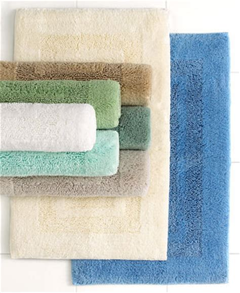 Macys Bath Rugs Martha Stewart Collection Plush Squares Bath Rugs 100 Cotton Only At Macy S Bath Rugs