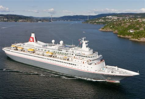 cruise ship black    passengers caught fire  atlantic ocean maritime herald