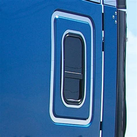 ftl cascadia sleeper door trim door trims exterior trims cascadia freightliner browse