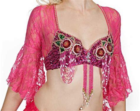 Bracelette 1 Bra Import Fashion Wanita cabaret beaded embellished sequin belly bra jon s imports inc