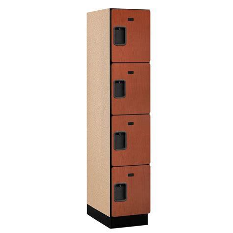 salsbury industries 24000 series 4 tier wood wide