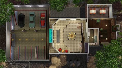Floor Plan Of Residential House by Mod The Sims The Men Of Letters Bunker Supernatural