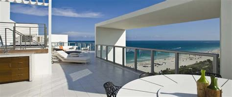 Apartment Hotel Miami South Luxury South Penthouse For Sale